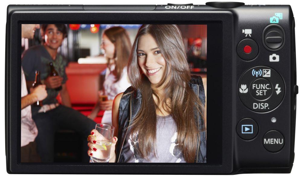 Canon IXUS 255HS (Wi-Fi) (3 színben) (fekete)