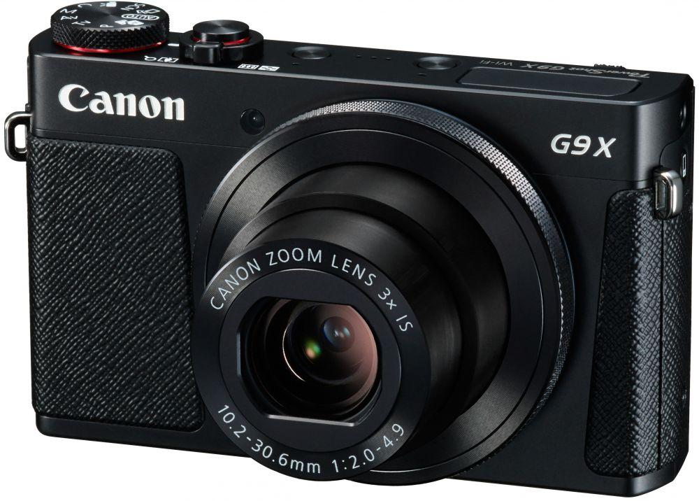 Canon PowerShot G9x (fekete)