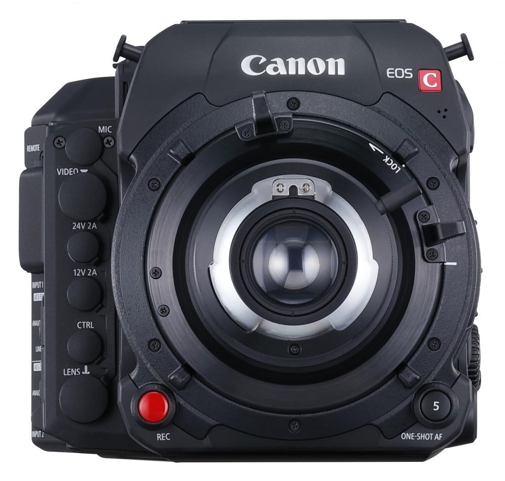Canon_C700_vaz_EF_bajonettes