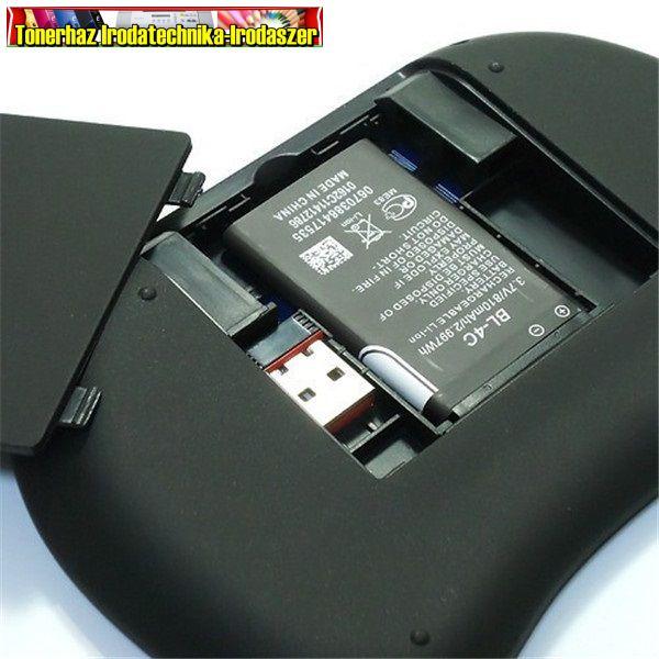 Venz VZ-KB-2 - Vezeték nélküli billentyűzet (USB, Wifi, QWERTY billentyűzet, 92 db gomb, Touchpad, max. 10m-ig)