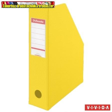 ESSELTE  Vivida Iratpapucs, PP/karton, 70 mm, összehajtható