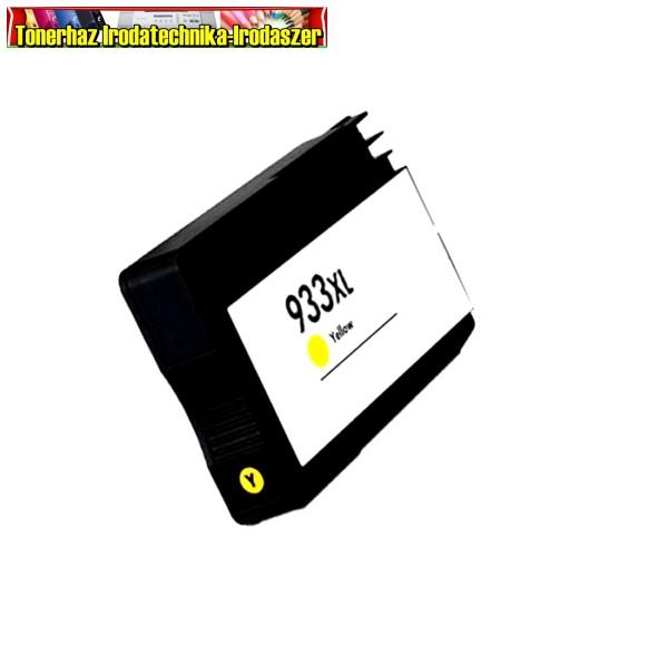 Hp 933XL premium utángyártott tintapatron yellow (CN056A ) 15ml