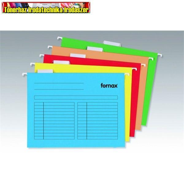 FORNAX Függőmappa A4 karton natúr