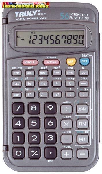 Truly SC107A tudományos számológép