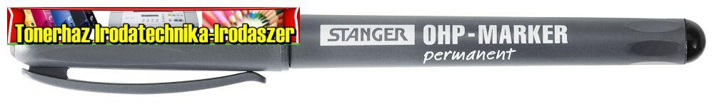STANGER Marker alkoholos OHP 710020- M 1mm FEKETE