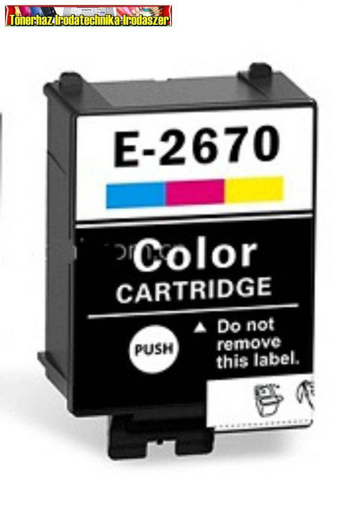 Epson utángyártott T2670 Patron color 5,8ml