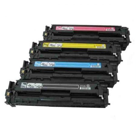 Hp CB540A,CB541A,CB542A, CB543A Prémium utángyártott tonerek