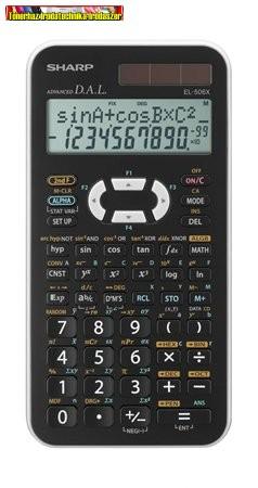 Sharp EL506X tudományos számológép  (EL-506;EL 506) 469 funkc.