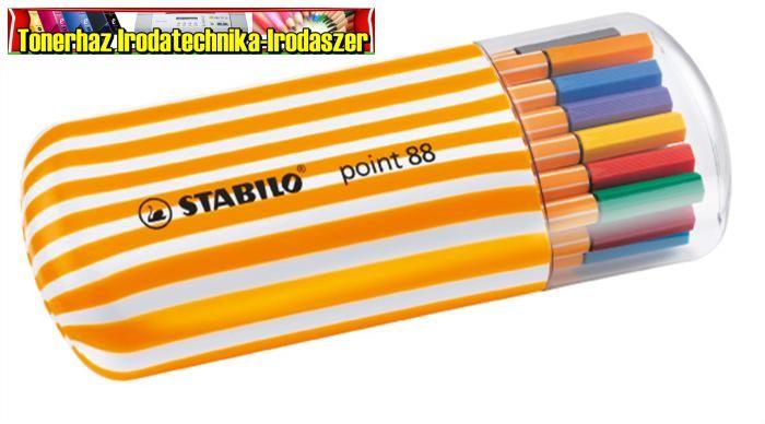 Stabilo_Point_88_tufilc_kul_szinben
