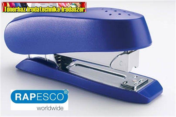RAPESCO Luna Half-Strip Tűzőgép, 24/6-8, 26/6-8, 50 lap, elöltöltős, műanyag, kék