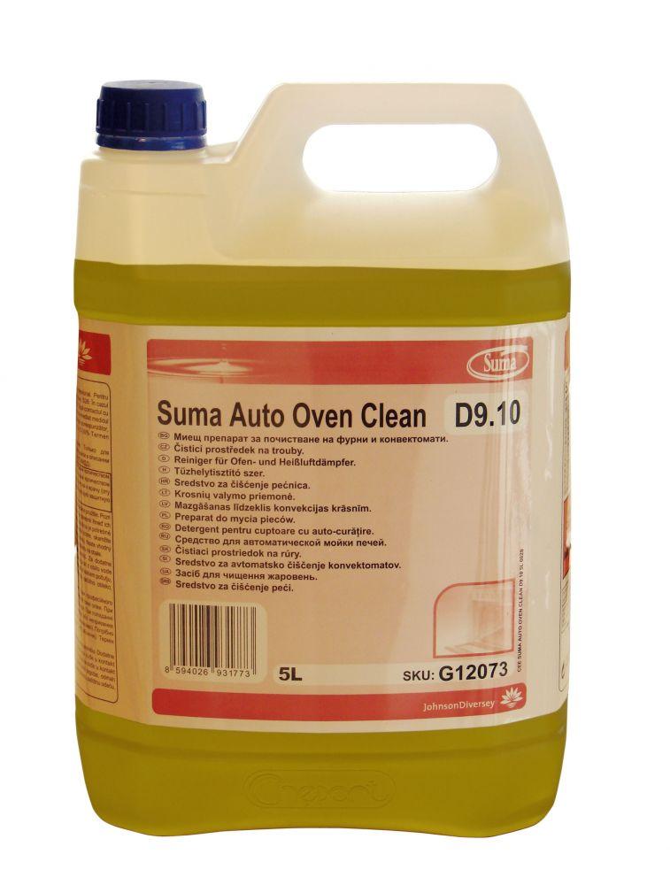 SUMA Auto Oven Clean D9.10 Automata és félautomata sütők koncentrált zsíroldószere (5 liter)