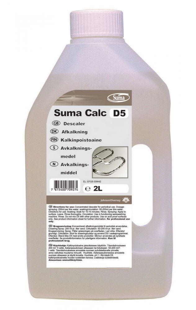 SUMA Calc D5 (2 liter) folyékony vízkőoldószer