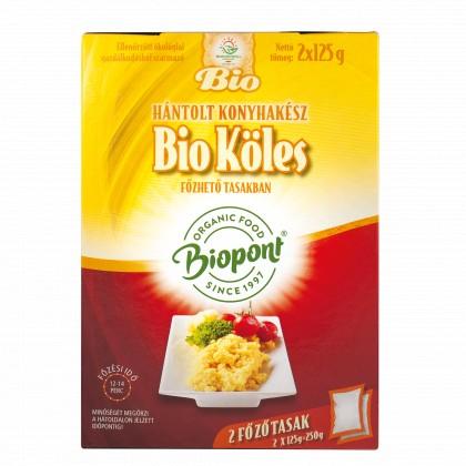 Biopont Bio Köles hántolt konyhakész (2x125 g)