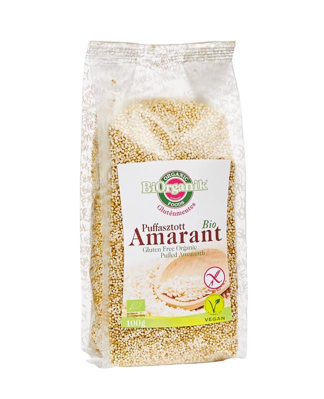 Biorganik BIO amarant mag pattogatott (100 g)