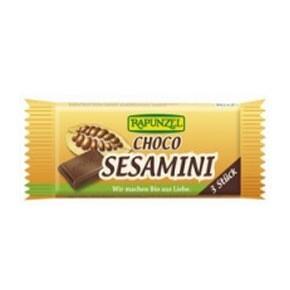 Rapunzel Bio csokoládés szezámszelet (27 g)