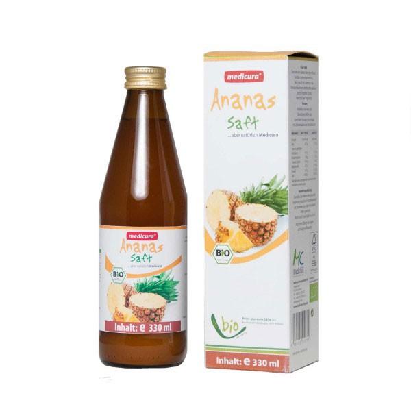 Medicura Ananász 100% bio gyümölcslé (330 ml)
