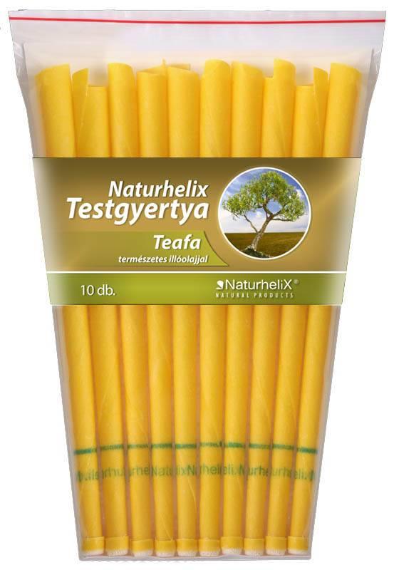 Naturhelix Testgyertya Teafa (10 db)
