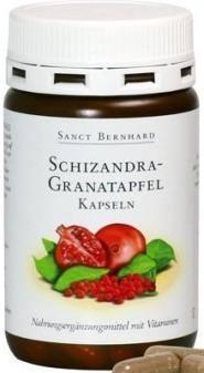 Sanct Bernhard Schizandra-gránátalma kapszula (90 db)