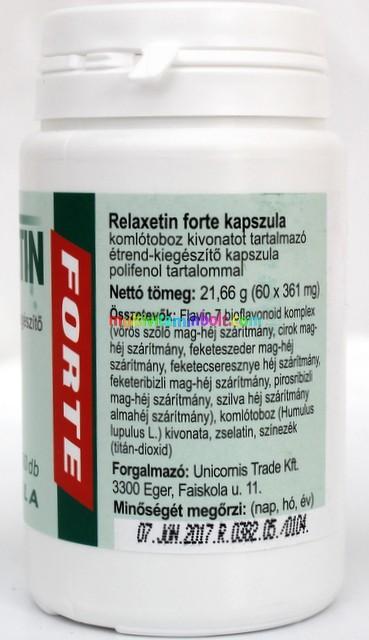 Relaxetin Forte kapszula 60 db - Flavin7