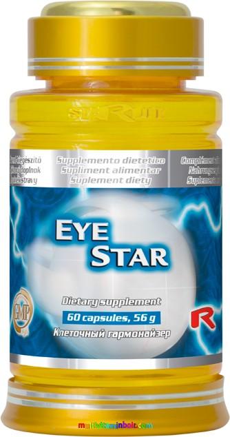 Eye Star 60 db kapszula szemek erősítésére, szemvitamin - Starlife