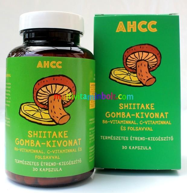 AHCC 30 db kapszula - Gyógygomba kivonatok, daganatos betegségre ajánlott