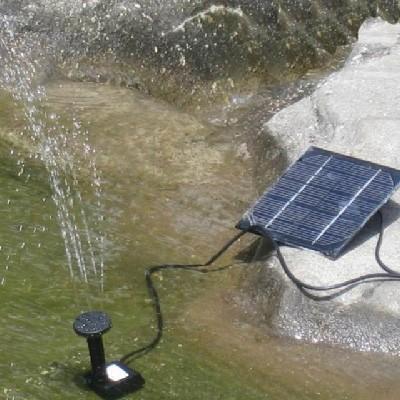 Napelemes szökőkút 150 liter/óra 50 cm magasság napelemel 7V 140mA halastó kerti tó levegőztető levegőztetés és vízforgatás
