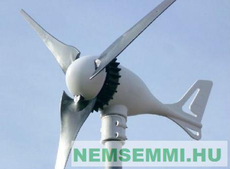 Szélgenerátor 500W AC 24V Breeze 500 váltóáramú szélturbina. Lapátátmérő 103 cm, szelesebb helyekre javasolt.  2 év garancia!