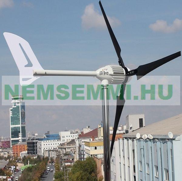 Szélgenerátor, szélturbina max. 2200W AC 48V Breeze i-2000   Szélenergia 230 cm rotorátmérővel.  2 év garancia!