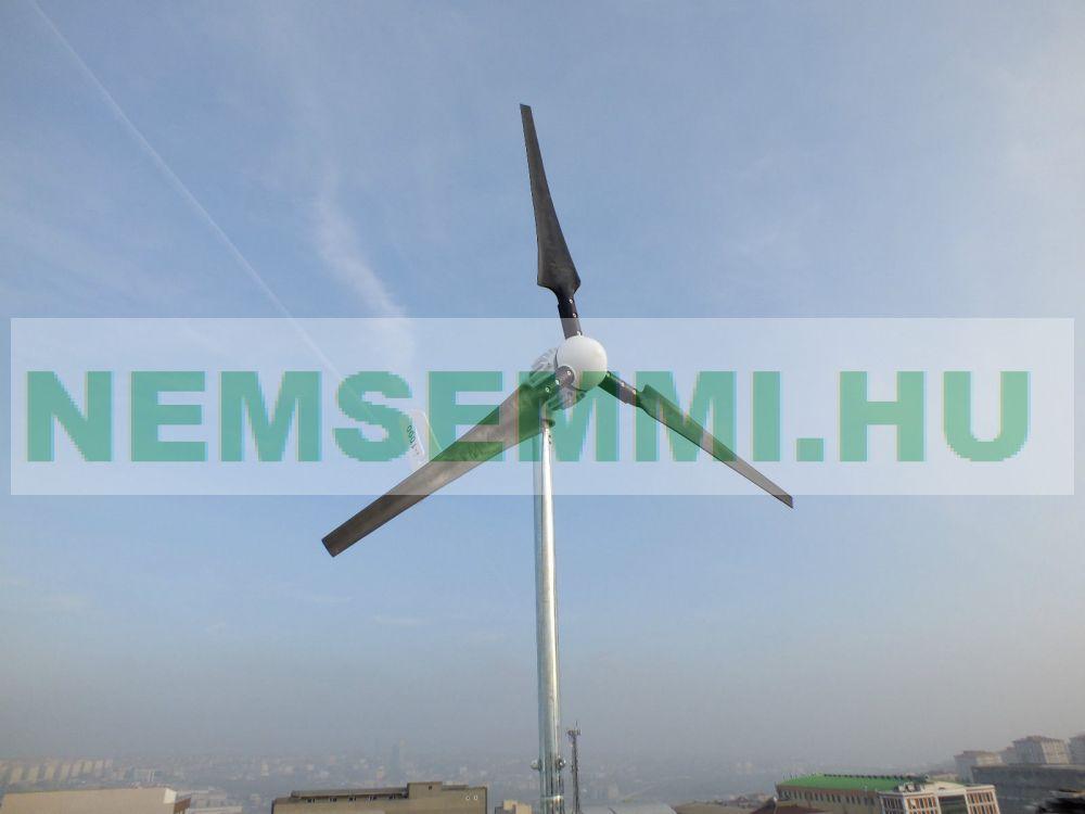 Szélkerék szélturbina max. 1200W AC 48V Breeze i-1000 szélenergia 210 cm rotorátmérő.  2 év garancia!