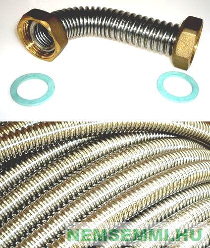 DN12 tartalék támasztó gyűrű gégecső csatlakozóhoz. A Gebo jellegű cső préselénél használja fel!
