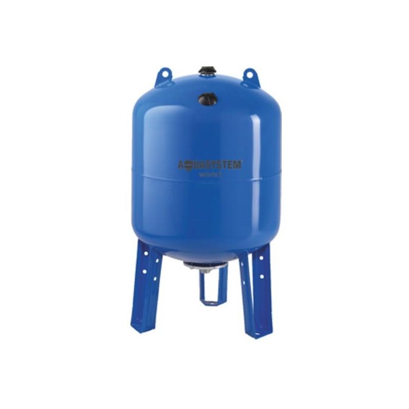 Hidrofor tartály 100 liter álló membrános zárt rendszerű használati víztartály EPDM gumimembránnal