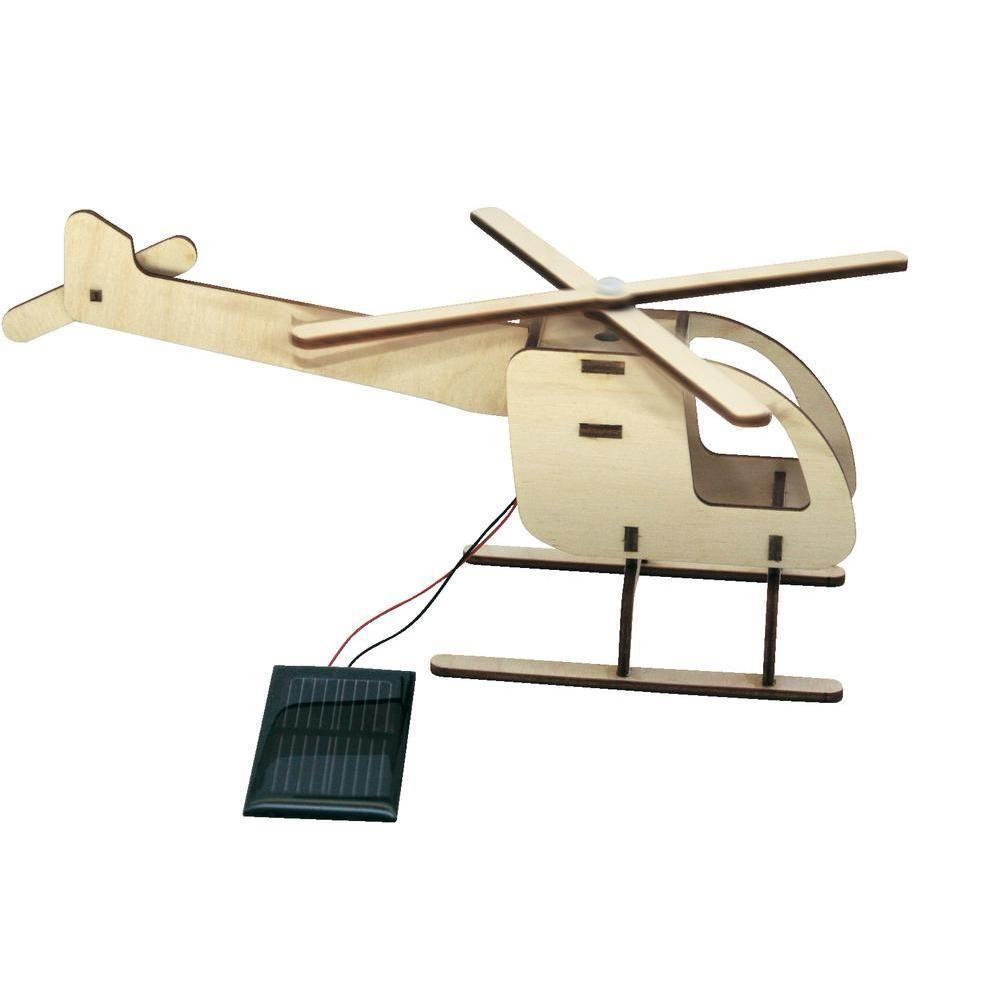 Napelemeshelikopter fa modell - napelem cella hajtja a propellert.