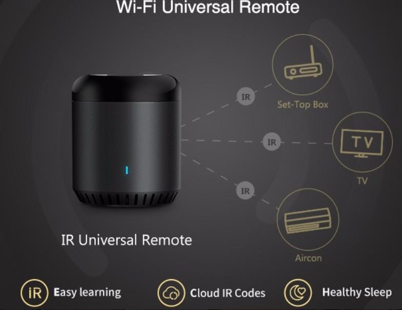 Univerzális távirányító wifi és IR vezérlésű egyaránt. Vezéreljen mindent az okostelefonjáról