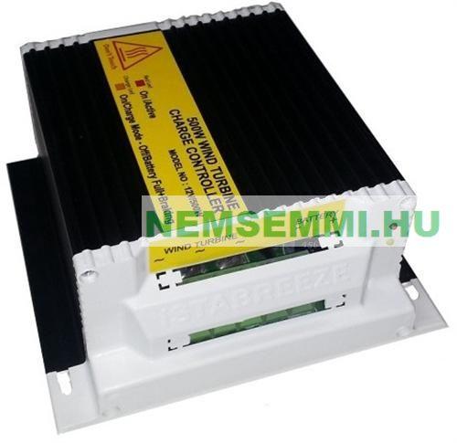 12V 500W töltésszabályozó és mágnesfék vízszintes szélkerékhez Szélgenerátor szélkerék szélturbina kontroller