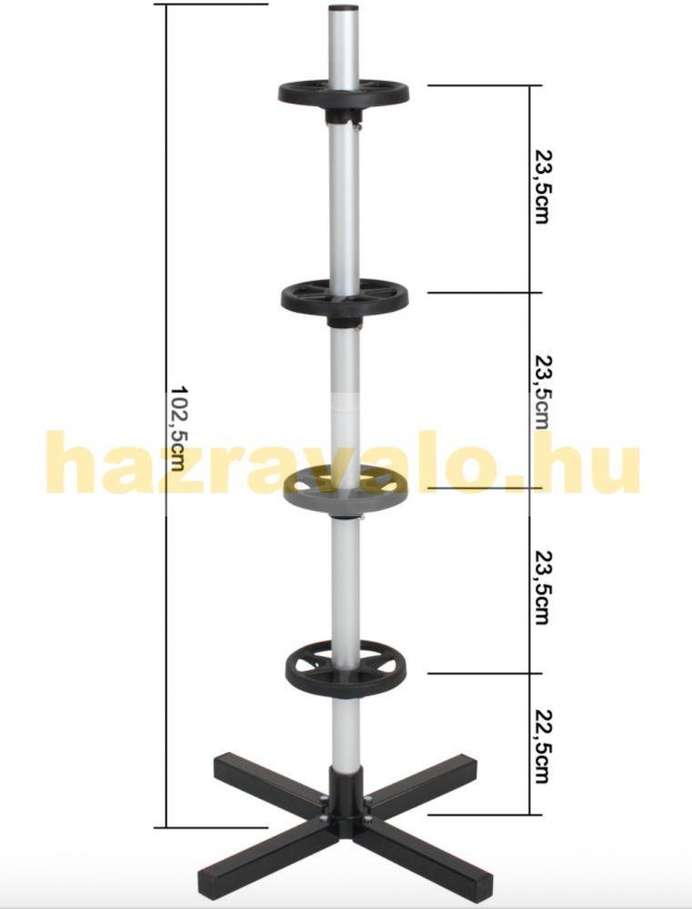 Keréktartó felni tartó állvány  max. 295 mm -es kerékszélességig