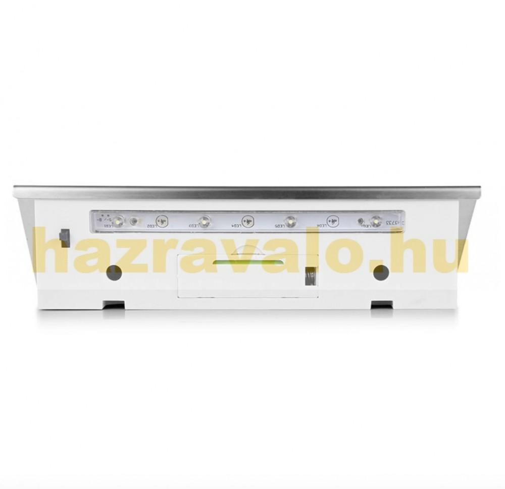 Napelemes lámpa házszám rozsdamentes kültéri kivitel LED sor világítás Vízálló