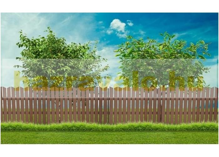 WPC kerítéstartó léc dió 300 cm WPC kerítésléc tartó vízszintes deszka