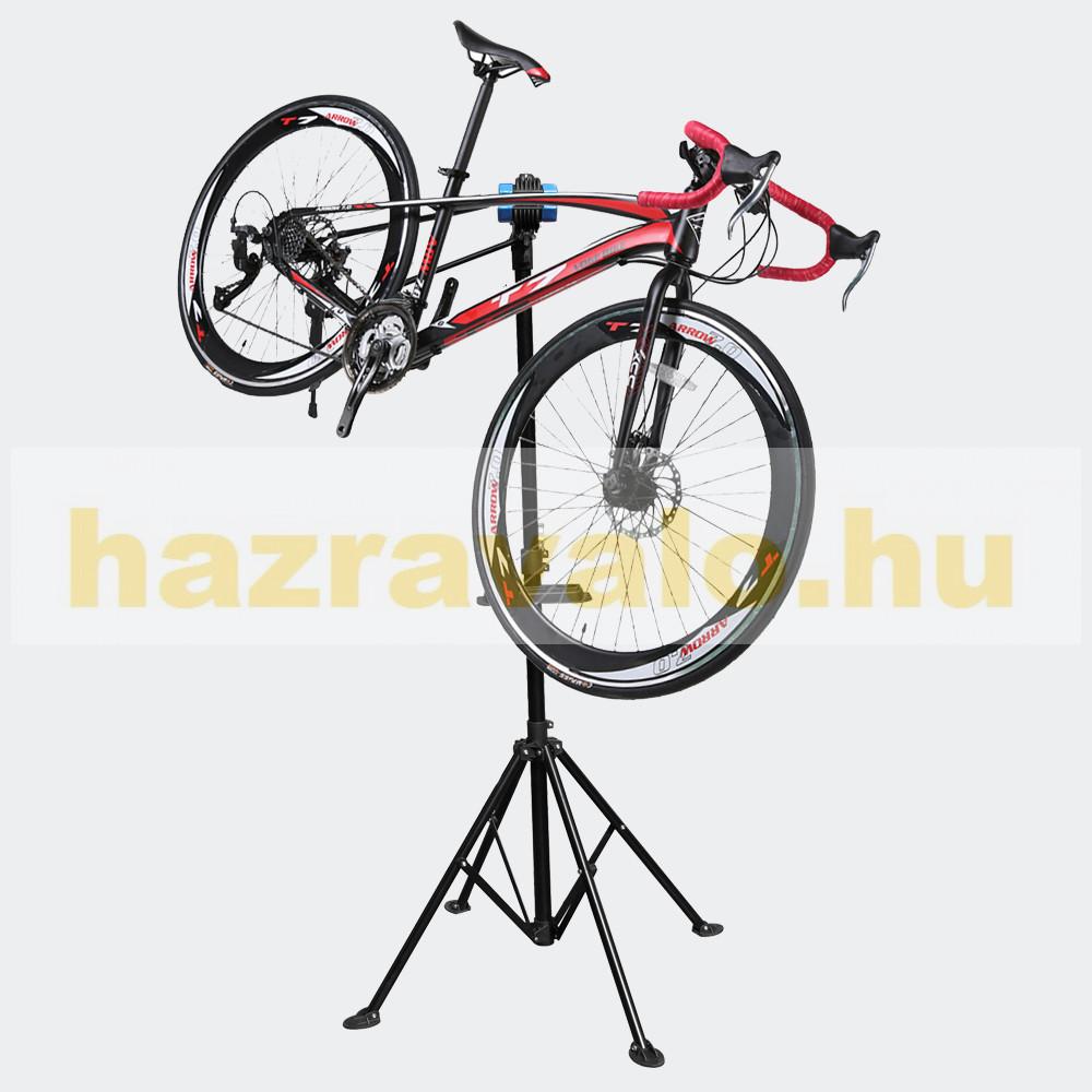 Kerékpár bicikli javító- és szerelőállvány összecsukható