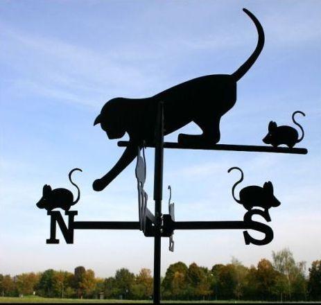 Szélkakas macska nagyméretű