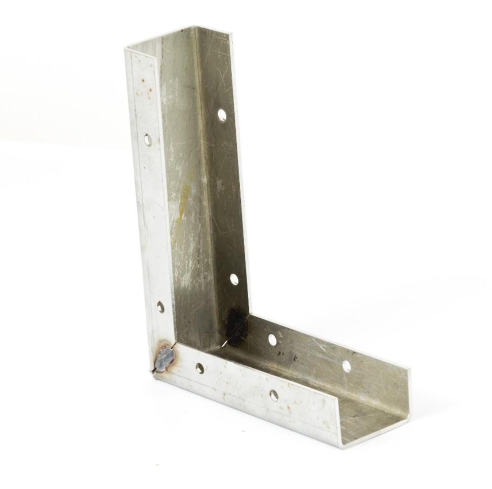 WPC padló lépcső profil belső sarok rozsdamentes anyagból