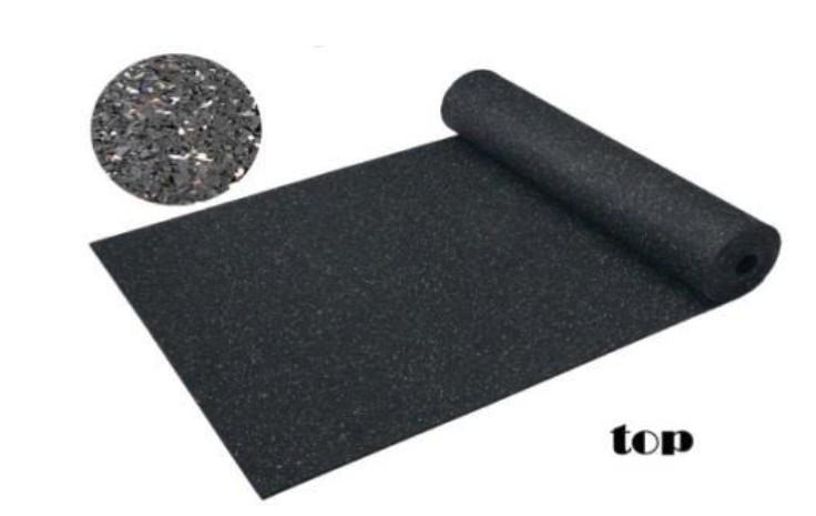 Top szigetelésének védelmére gumilemez 15mm vastag 5m2