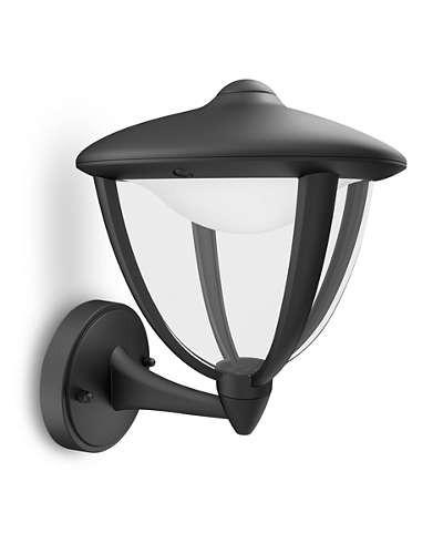 Philips 154703016 Robin kültéri fali lámpa (fekete) 1x4.5W 230V