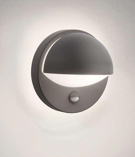 Philips 162469316 June kültéri fali lámpa (antracit szürke) 1x12W 230V mozgásérzékelős