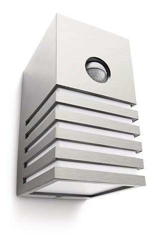 Philips 164114716 Veranda kültéri fali lámpa (rozsdamentes acél) 1x20W 230V mozgásérzékelős