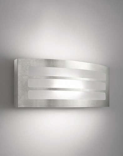 Philips 172174716 Grove kültéri fali lámpa (rozsdamentes acél) 1x23W 230V