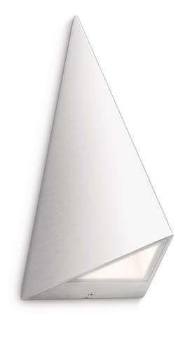 Philips 172474716 Hills kültéri fali lámpa (rozsdamentes acél) 2x1W