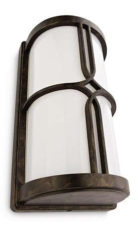 Philips 172494216 Nectar kültéri fali lámpa (bronz, antik) 1x20W 230V