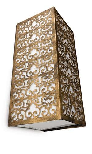 Philips 172604216 Idylle kültéri fali lámpa (bronz, antik) 1x15W 230