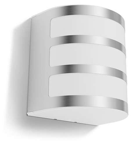 Philips 173144716 Calgary kültéri fali lámpa (rozsdamentes acél) 1x3W 230V