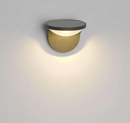 Philips 178079316 Dusk kültéri fali lámpa (antracit szürke) 1x1W napalemes